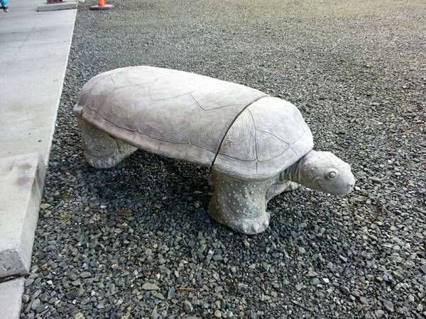 Concrete Casted Statues & Turtles for your Front Lawn