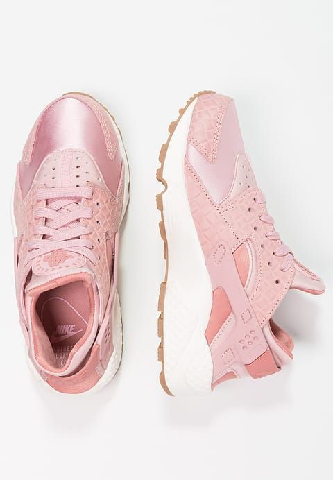 separation shoes b6234 610e7 Chaussures Nike Sportswear AIR HUARACHE RUN PRM - Baskets basses - pink  glaze pearl pink sail med brown chair  130,00 € chez Zalando (au 21 02 17).