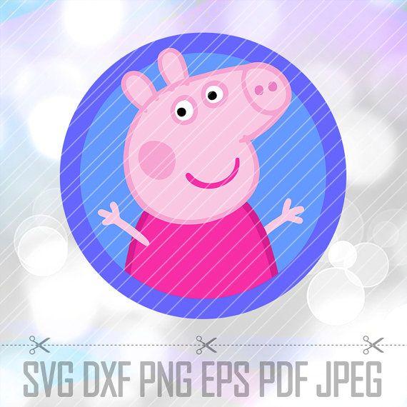 Peppa pig svg dxf png eps pdf studio vector cut files cricut peppa pig svg dxf png eps pdf studio vector cut files cricut voltagebd Images