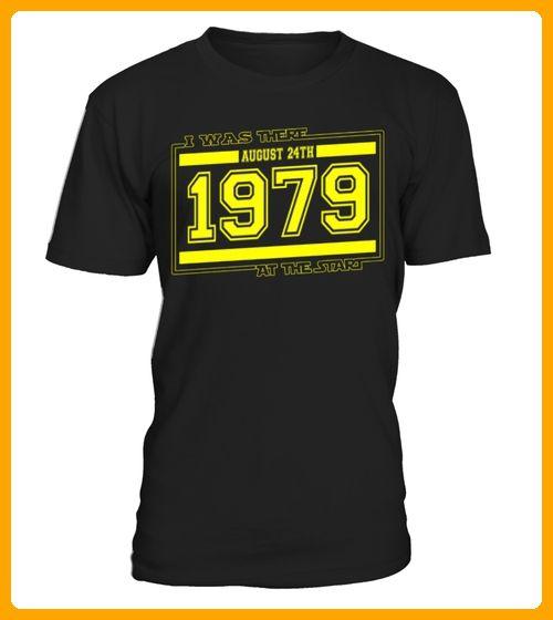 IwasthereAUGUST24TH1979 - Geburtstag shirts (*Partner-Link)
