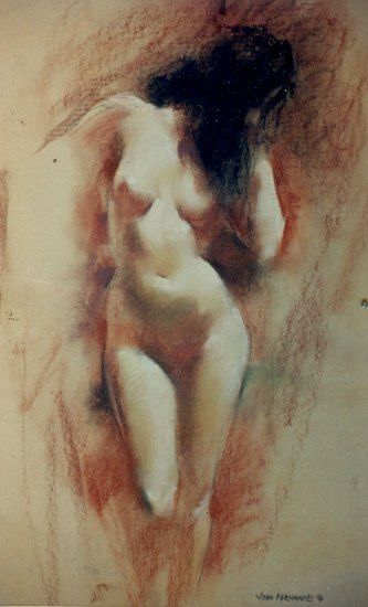 Indian Old Masters - Figurative Paintings by John Fernandes | Art ...