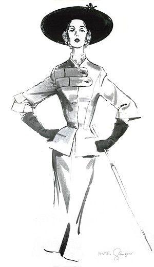 Margot c. 1954, Hilda Glasgow