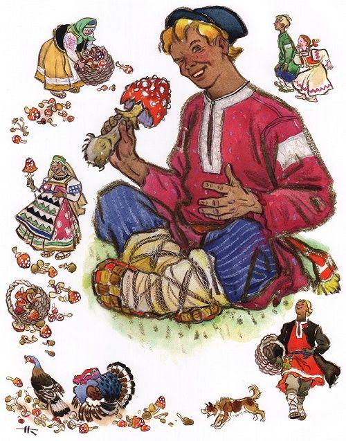 Сивка-бурка, читать детскую сказку с картинками | Русская ...