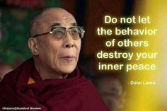 Don't Let Others Disturb Your Inner Peace