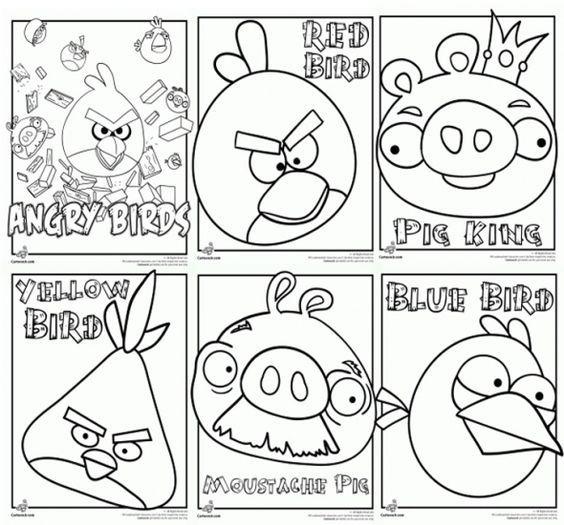angry birds printable:   AngryBirds Mario   Pinterest