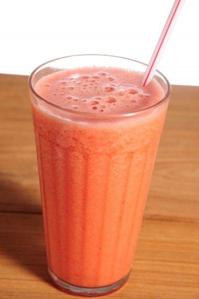 suco rosa antioxidante