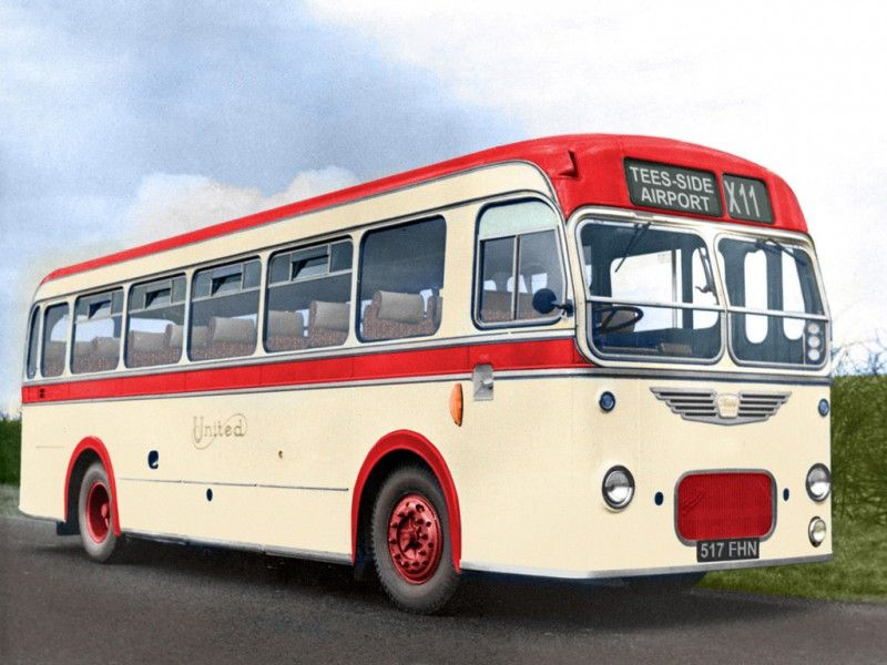 Bristol MW5G ECW B43F 1959-1964 .#jorgenca