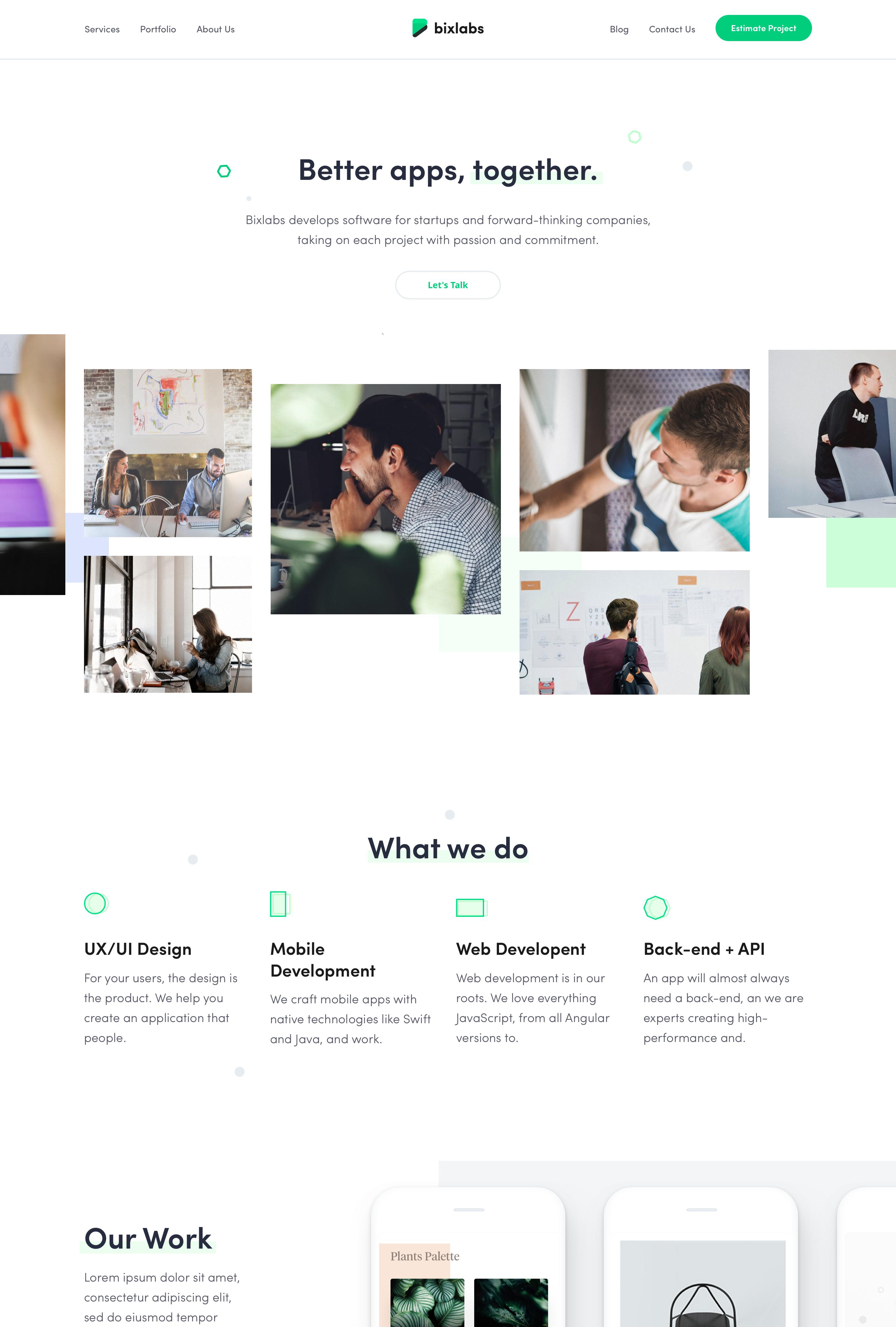 Bixlabs Full 2x Web Development Design Clean Web Design Clean Websites