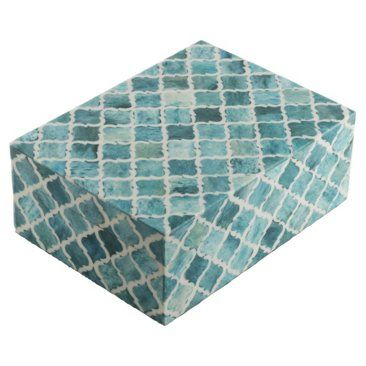 "Check out this item at One Kings Lane! 8"" Moroccan Tile, Turquoise"