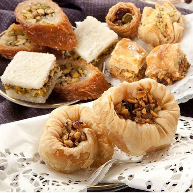 Pin On Our Oriental Sweets حلويات البحصلي