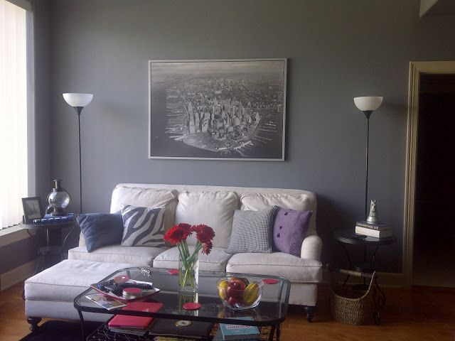 Whale Gray 2134-40 from Benjamin Moore PAINT COLORS Pinterest