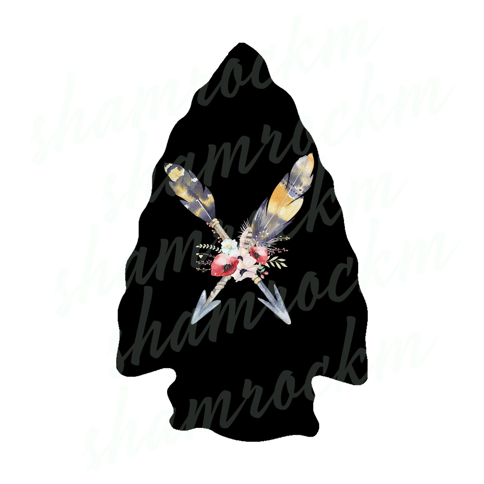 Arrowhead With Crossed Arrows Png Images With Transparent Etsy Png Images Crossed Arrows Image