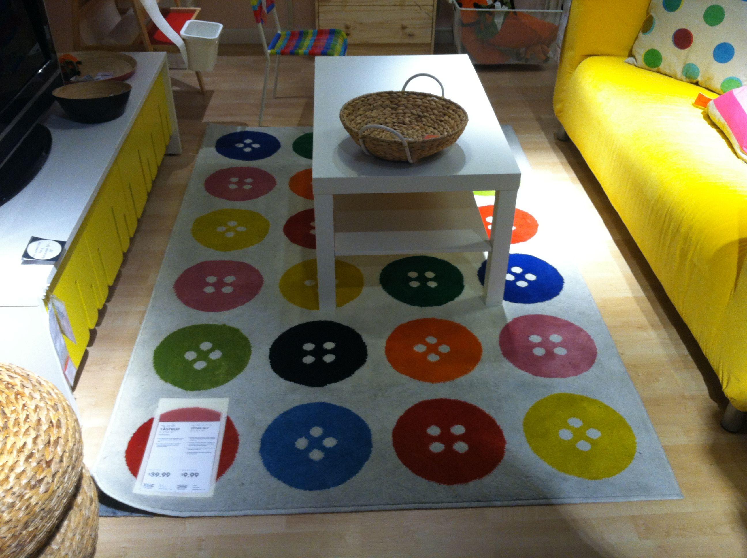Ikea button rug 39.99 Asa's room in 2019 Ikea rug
