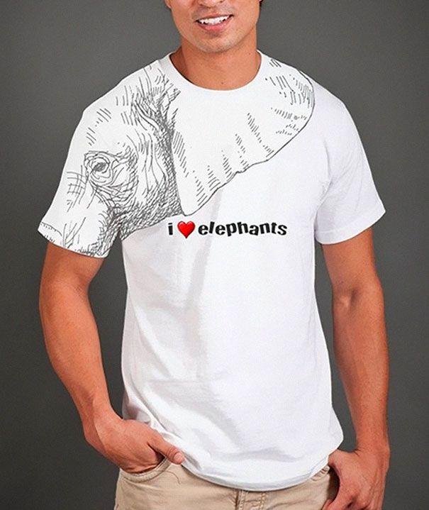 38 Exemplos De Camisetas Criativas. Awesome T ShirtsFunny ...