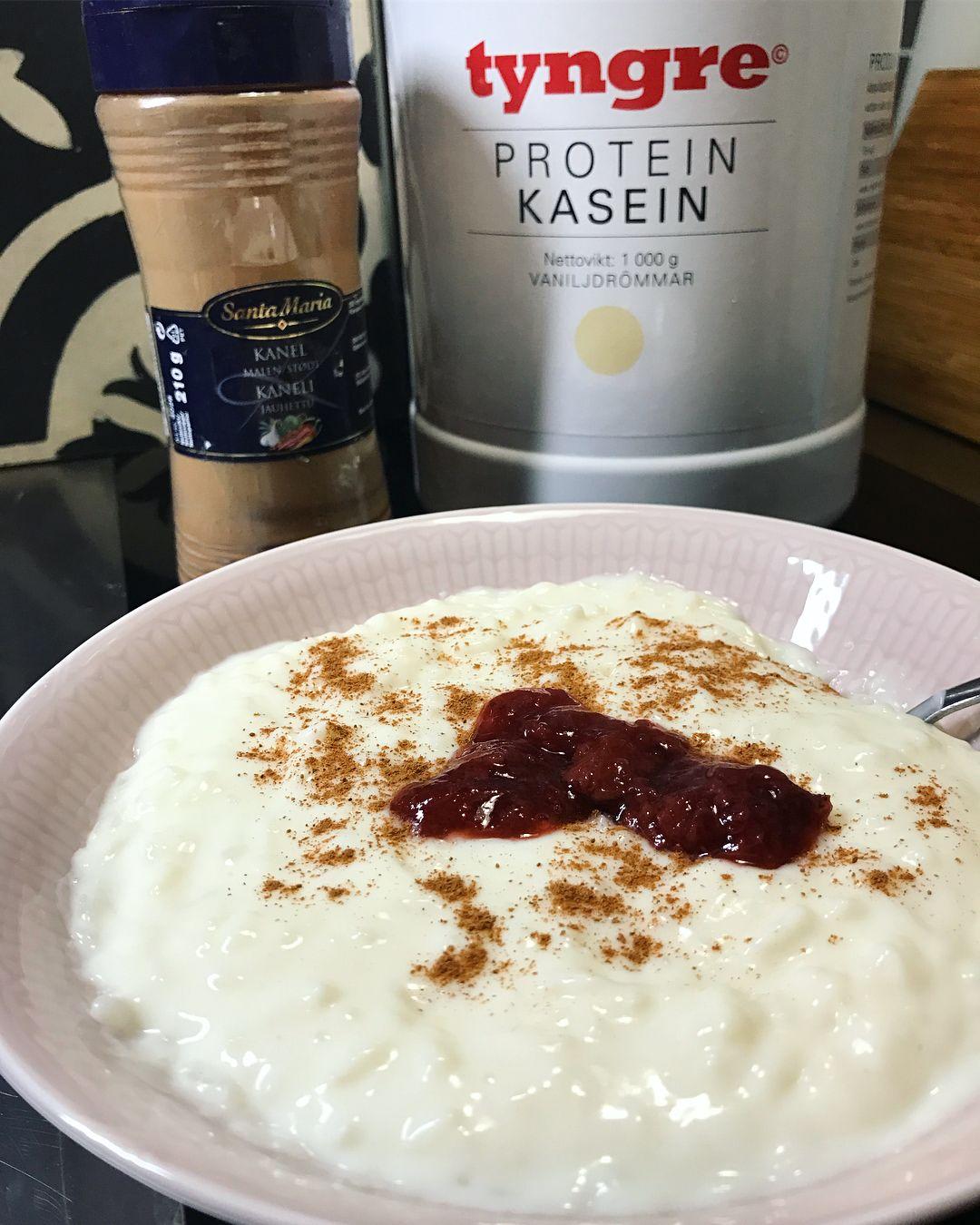 Tyngre proteinpulver vaniljdrömmar