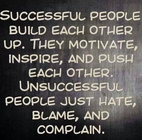 Successful People. Such truth!