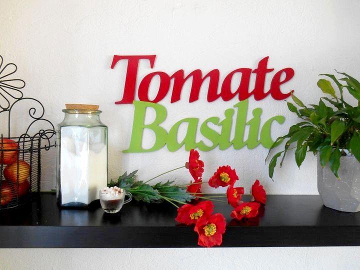 Home déco  texte design pour la cuisine Un petit air de Provence