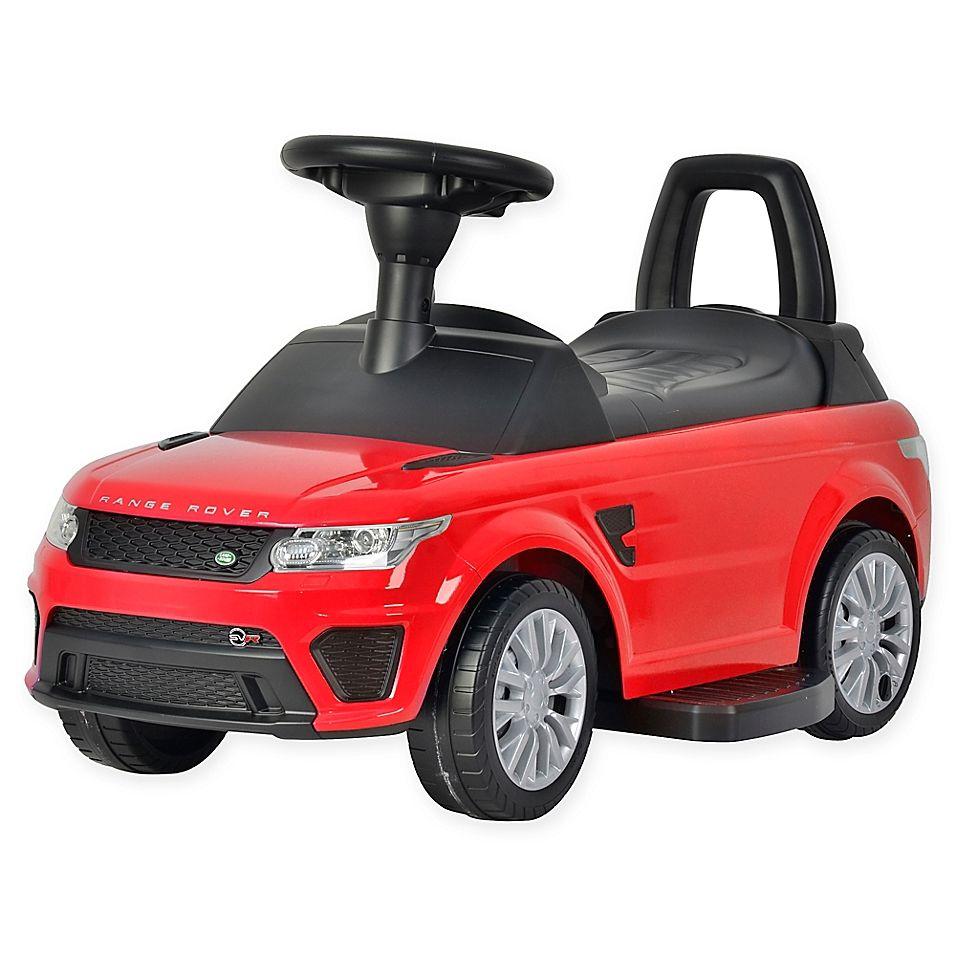 Best Ride On Cars Range Rover Sport Svr 6V Ride-On Car In Red