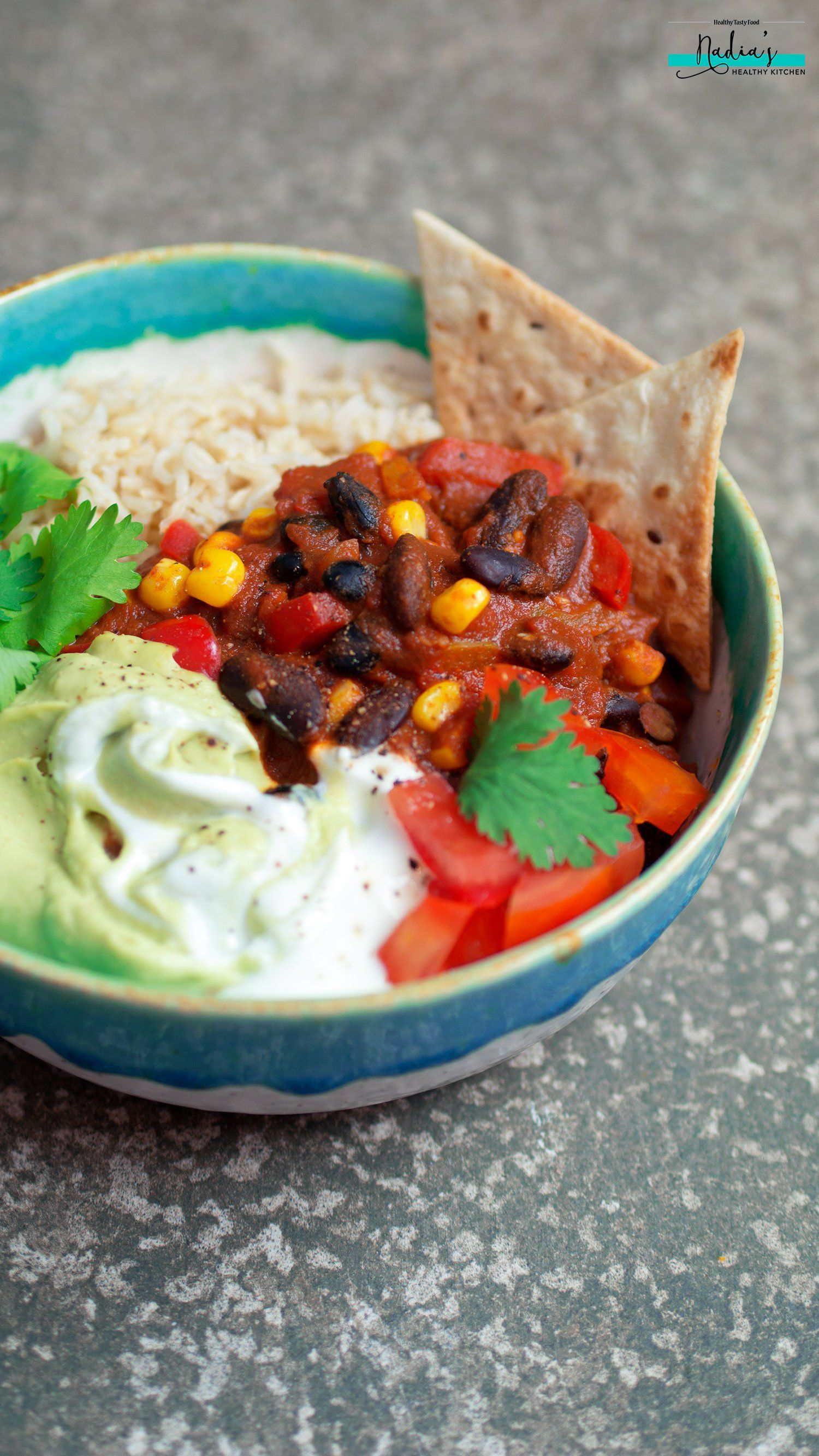Vegan chilli con carne uk health blog nadias healthy kitchen food vegan chilli con carne uk health blog forumfinder Choice Image
