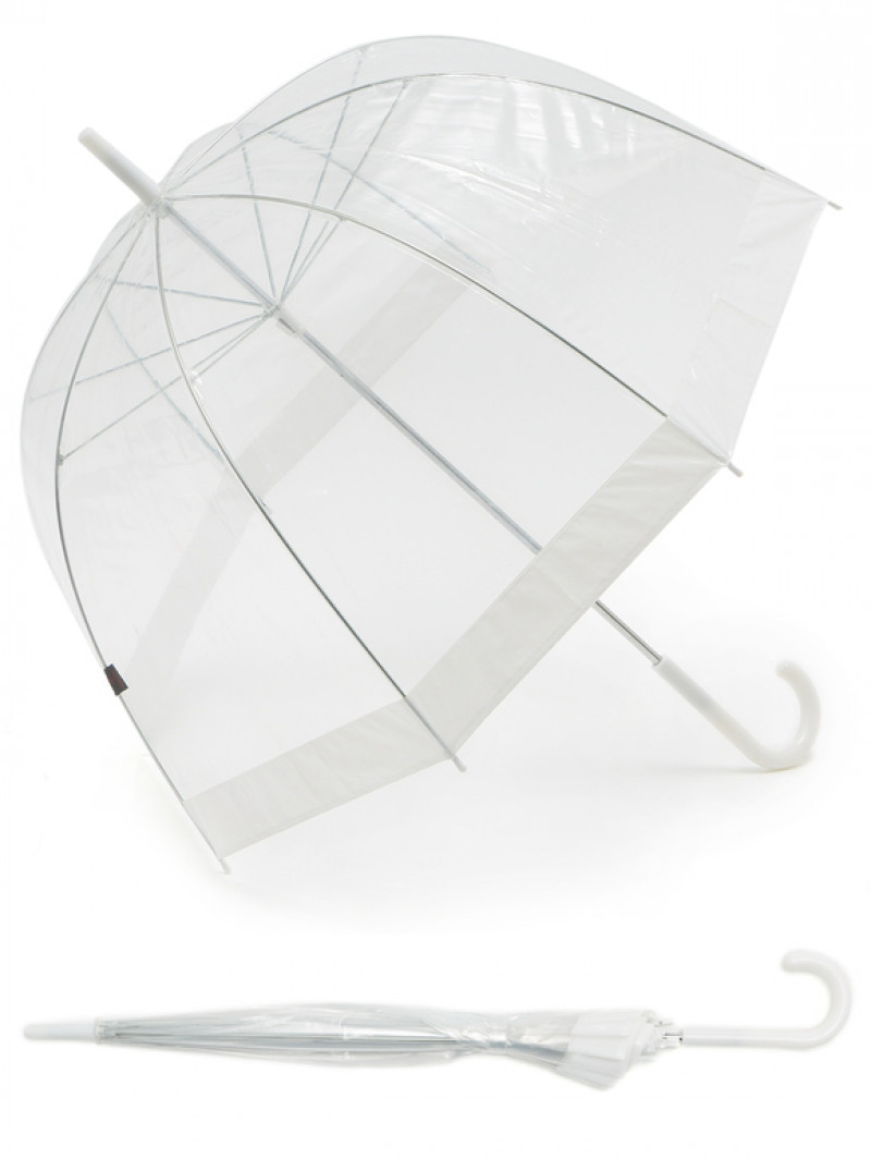 Shelta Clear Umbrella | Lowes Menswear #clearumbrella