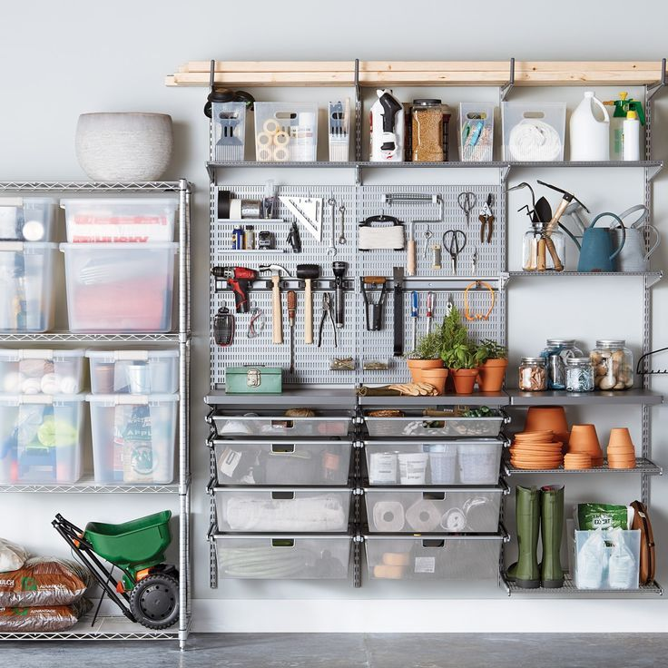 Garage Storage Solutions - Custom Garage Shelving & Garage Storage Shelves | The Container Store