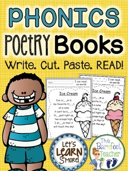 Phonics Poetry Book, Phonics Fill in the Blank, Phonics Original Poems