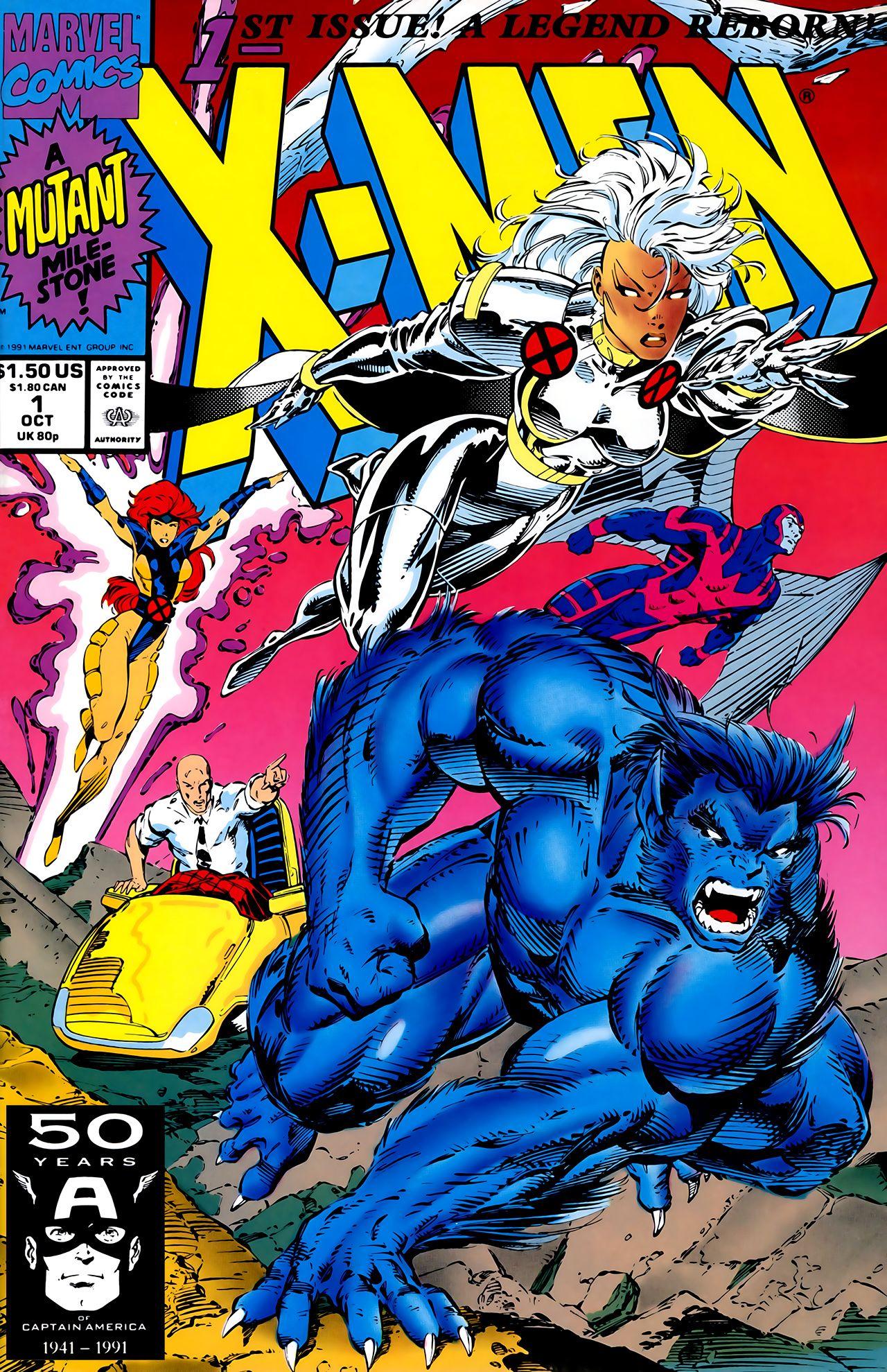 X Men Vol 2 1 Rare Comic Books Marvel Comics Covers Marvel Comic Books
