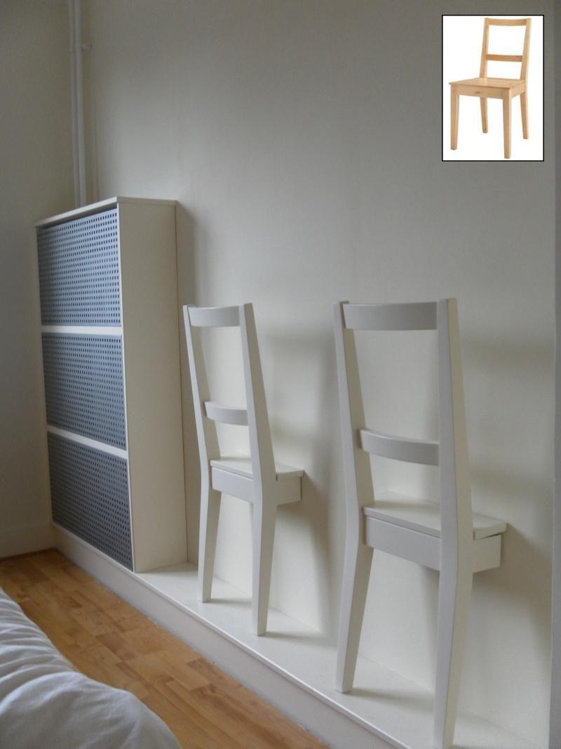 Silla Convertida En Galan De Noche Diy Ikea Ikea Hackers Y Bedroom