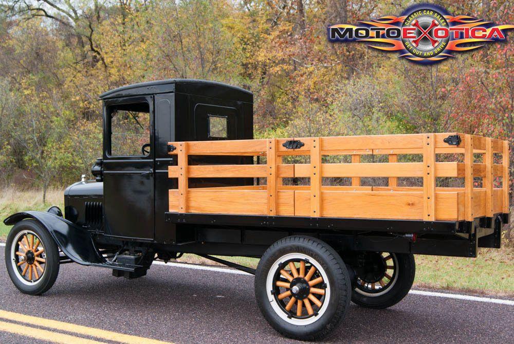 1925 Ford Model TT Stake Bed Ford truck models, Model t