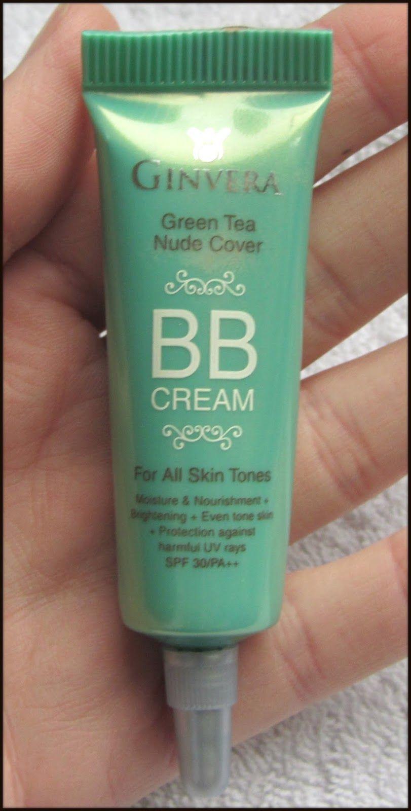 Ginvera Green Tea Nude Cover BB Cream SPF30 | StressNoMore