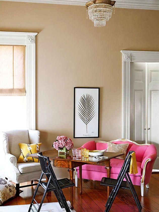 Color En Las Paredes Con Suelo Oscuro Home Decor Small Spaces Rustic Flooring