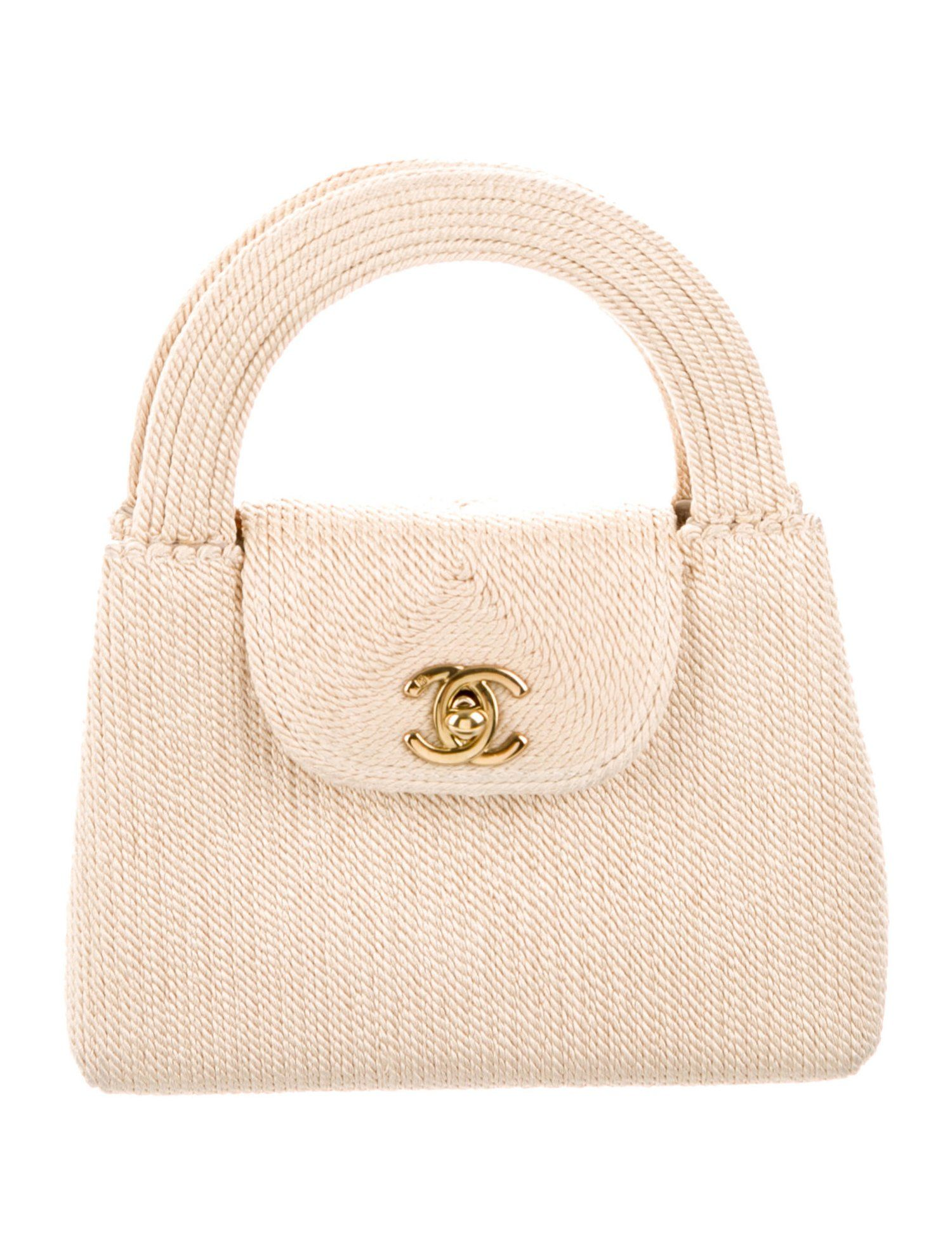 Chanel Vintage Mini Kelly Bag Handbags Cha291160 The Realreal Kelly Bag Popular Handbags Leather Handbag Purse