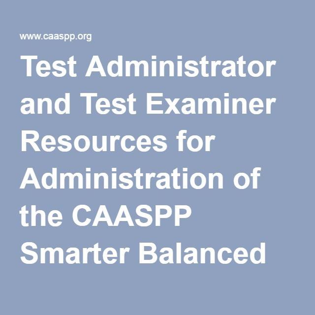 image regarding Caaspp Practice Tests Printable referred to as Attempt Administrator and Examine Examiner Components for