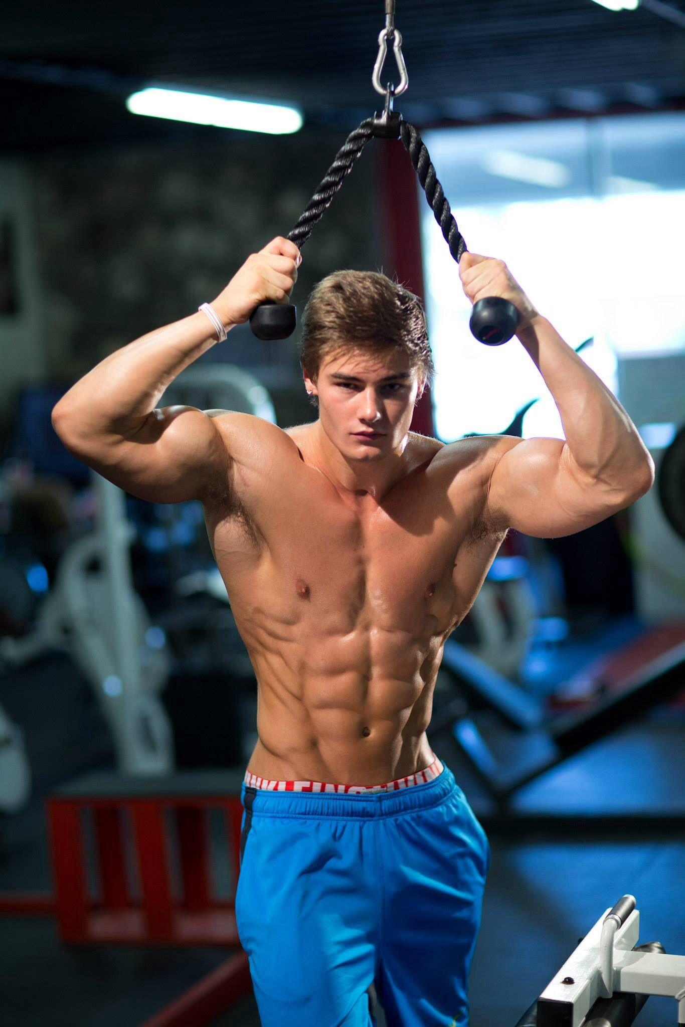 Sexy Strong Bodybuilder