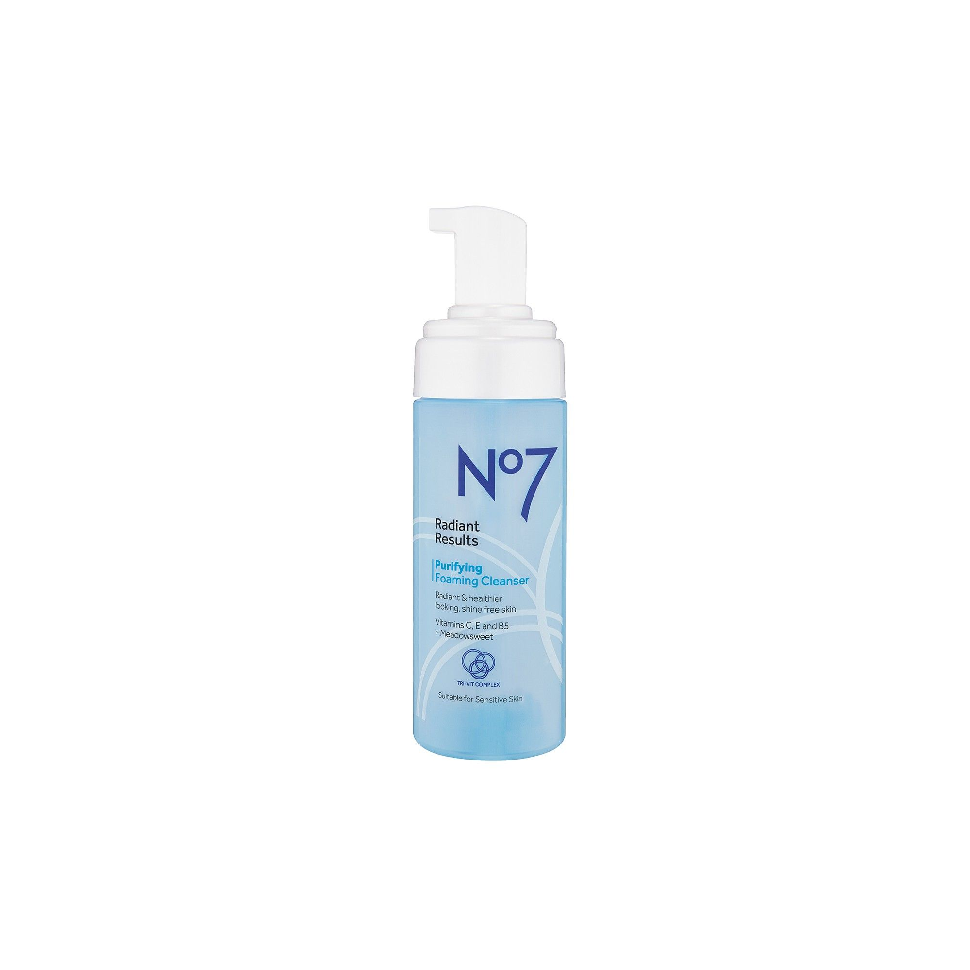 77694b39ffd0d No7 Radiant Results Purifying Foaming Cleanser - 5oz