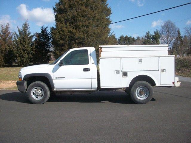 2002 Chevrolet 2500 Hd Utility Truck W Stahl Utility Body