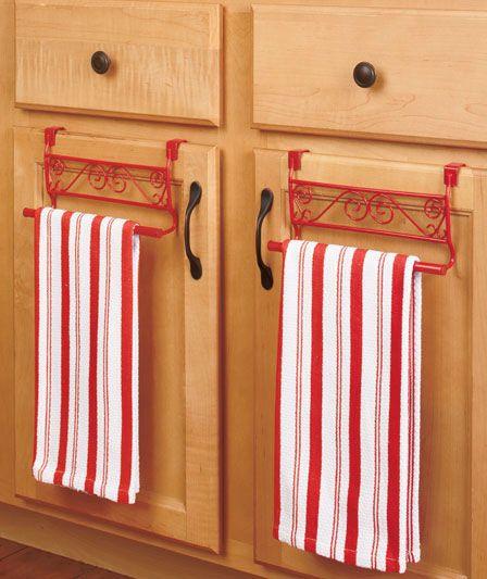 Corner Shelf or Over-the-Door Towel Holders | ABC Distributing