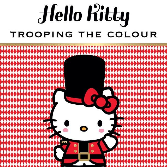 "32 Likes, 1 Comments - Hello Kitty (@wearehellokitty) on Instagram: ""Trooping the colour 😋😋😋😋😋👌 #troopingthecolour #uk #queen #birthday #hellokittyUK"""
