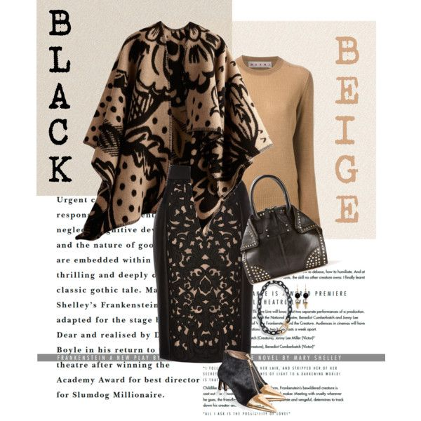 A fashion look from October 2014 featuring Marni sweaters, Burberry and Temperley London skirts. Browse and shop related looks.
