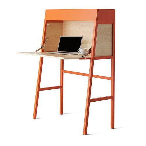 IKEA PS 2014 Secretaire arancione impiallacciatura di betulla