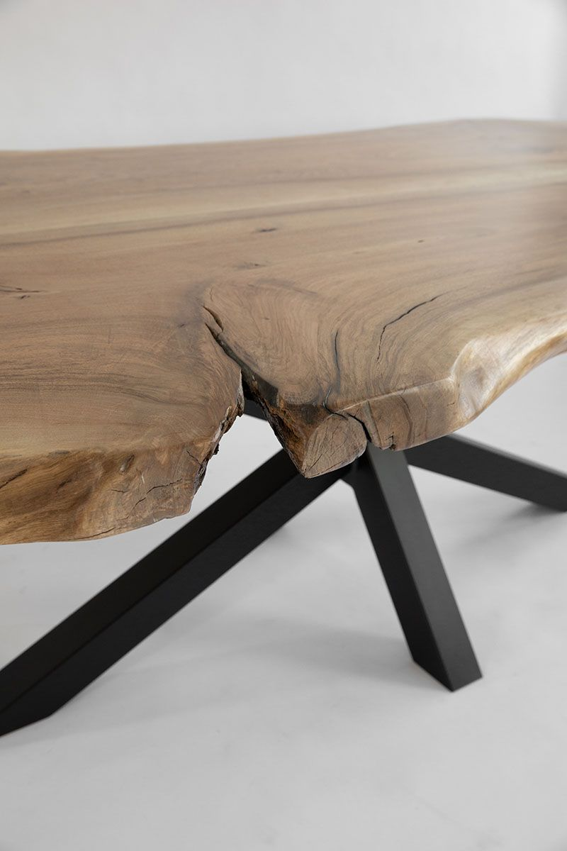 Table Ceylan French Wood Works Table Bois Table Design Table Salle A Manger
