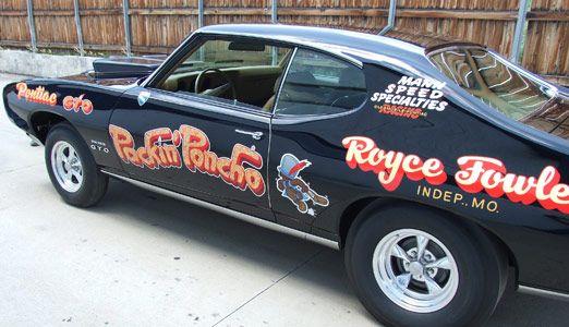 Image Result For Vintage Drag Racing Lettering Pontiac Gto Trans Am Pontiac Custom Trucks