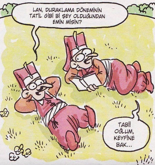 Duraklama Dönemi Karikatürü