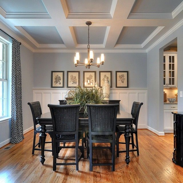 dining room color schemes. sw krypton paint color  sherwin williams colors dining room