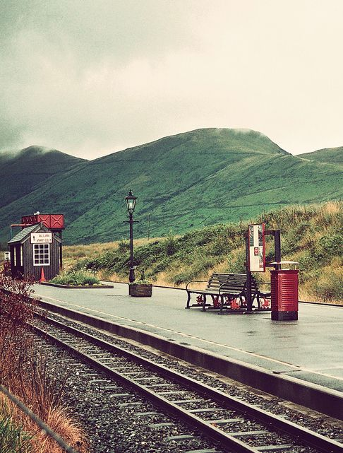 Railway Station ~  Wales, UK (Name not given)