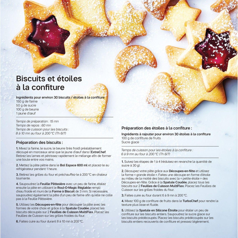 Recette biscuit noel tupperware