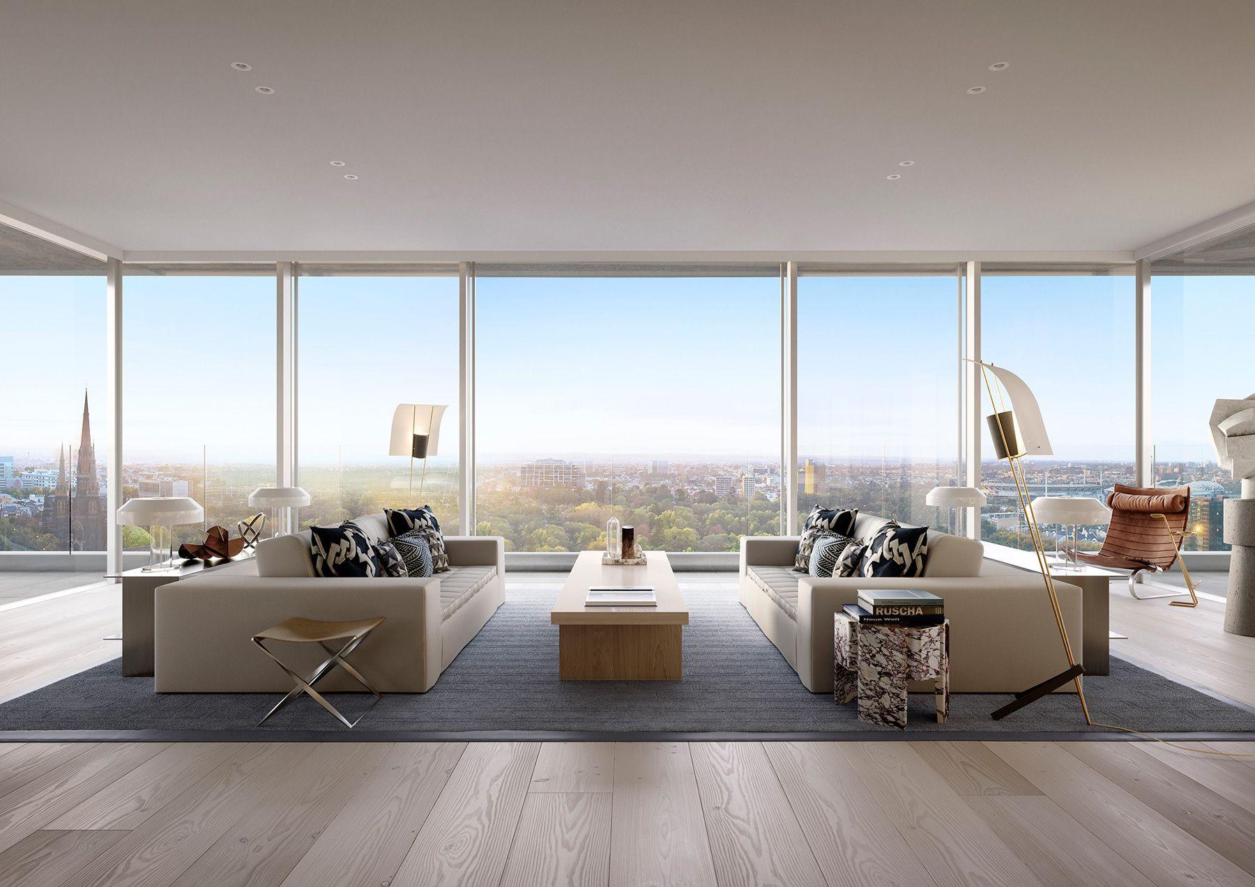 Internal_3BRLivingA.jpg (1800×1273) Model homes, Sky
