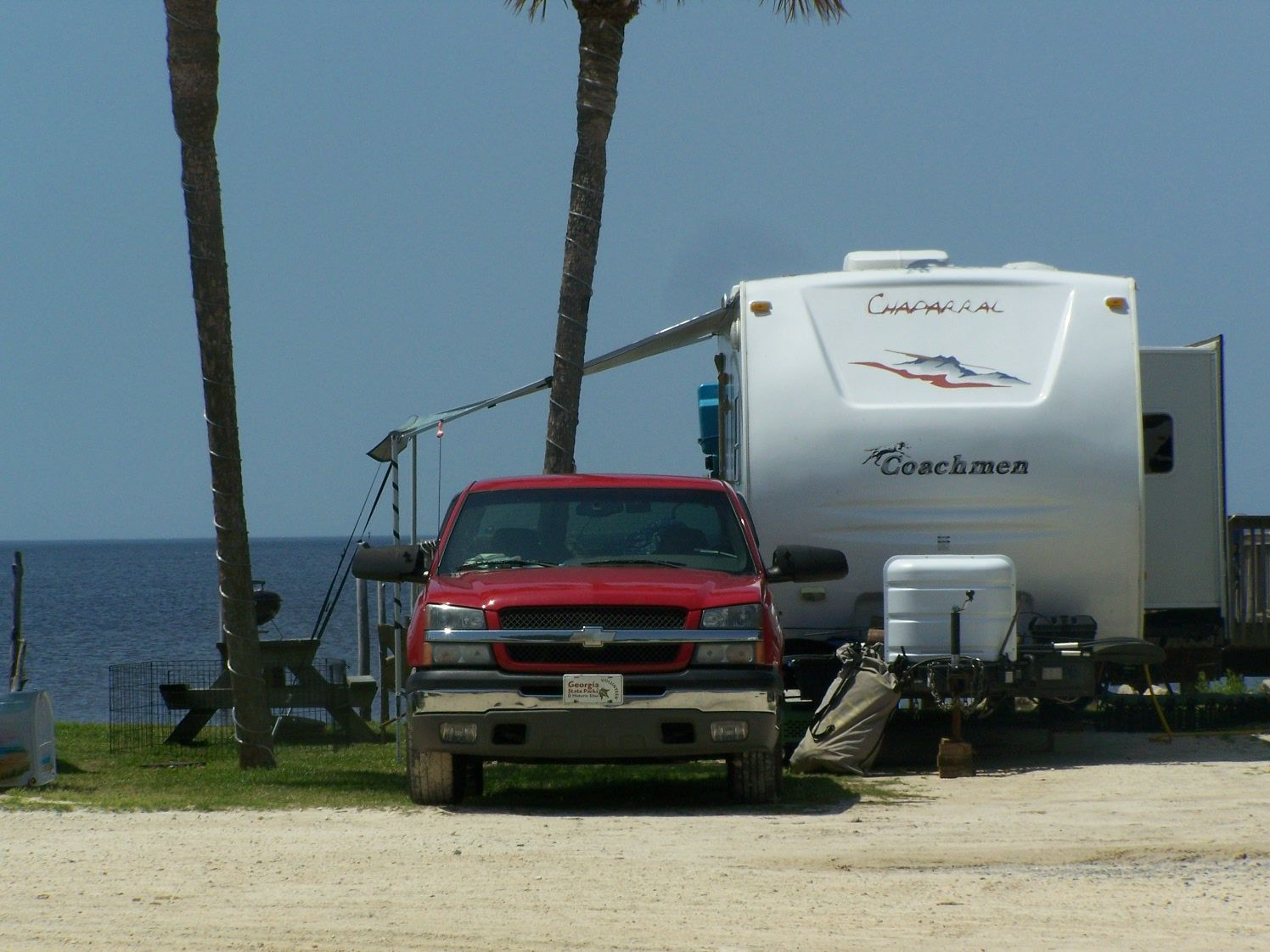 Keaton Beach Old Pavillion Rv Park Site 24 On The Gulf Arpil 15 25 2013 With Images Rv Parks Camping Beach