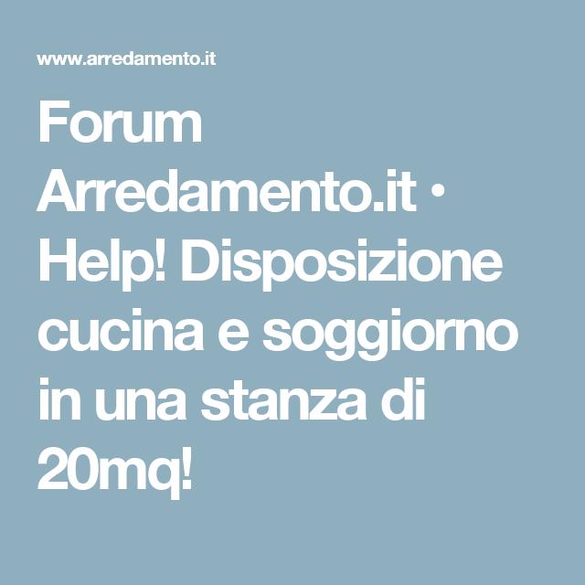 Forum Arredamento.it • Help! Disposizione cucina e soggiorno in una ...