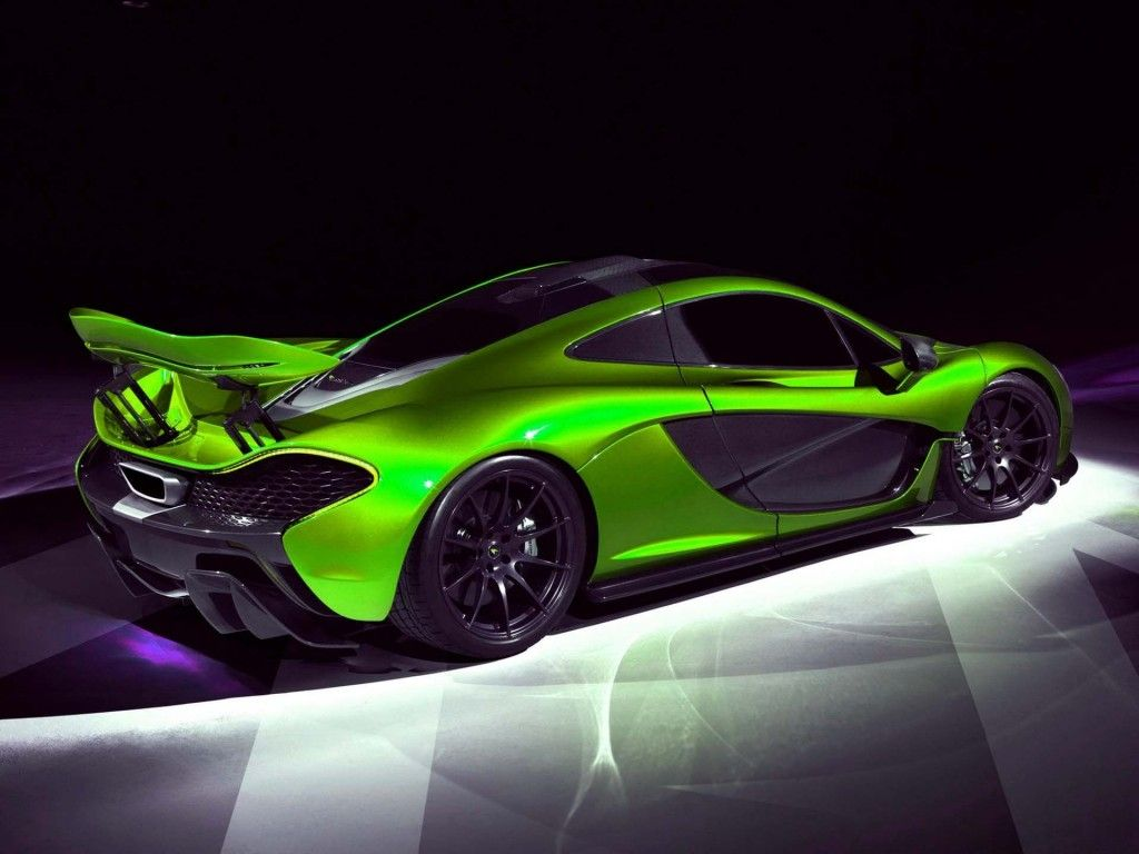 Lime Green McLaren P